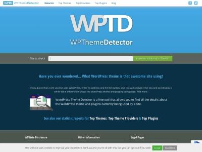 http://www.wpthemedetector.com/