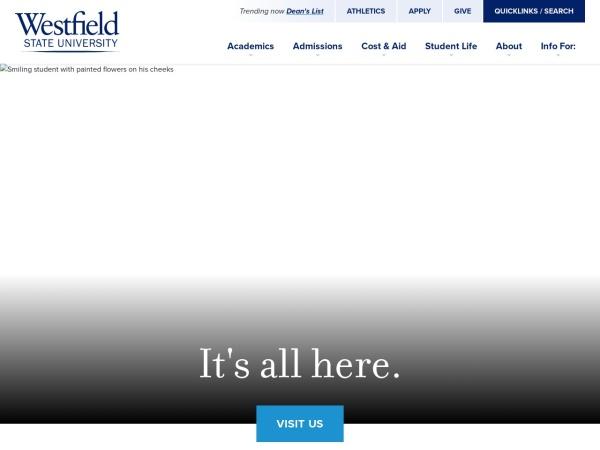 Screenshot of www.wsc.ma.edu