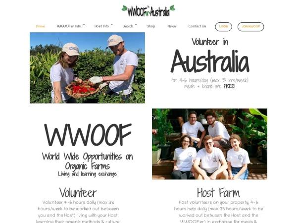 http://www.wwoof.com.au/