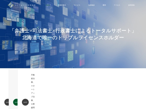 Screenshot of www.yanada-law.jp
