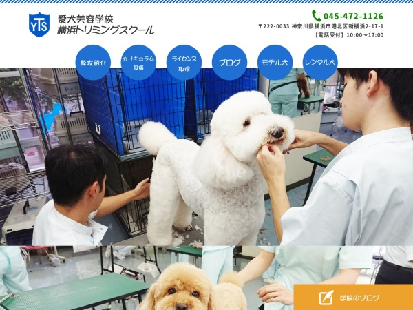 Screenshot of www.yokohama-trimming.com
