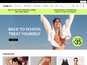 Yvette Sports Coupons