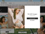 Zaful percent off coupon