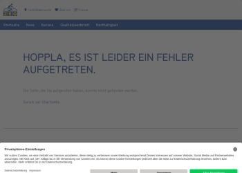 Screenshot of www.zeg.de