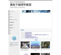 Screenshot of www2.ph.sci.toho-u.ac.jp