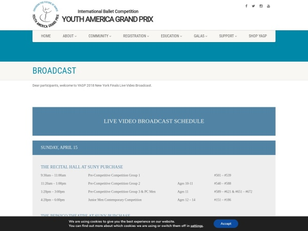 Screenshot of yagp.org