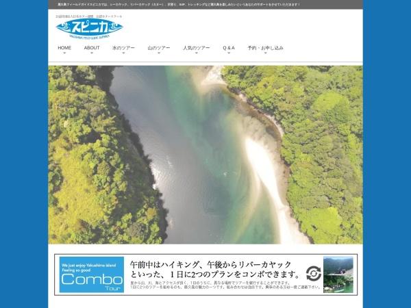 Screenshot of yakushima-kayak.com