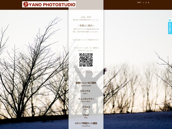 Screenshot of yanophoto.com