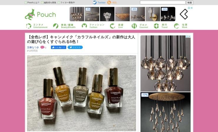 Screenshot of youpouch.com