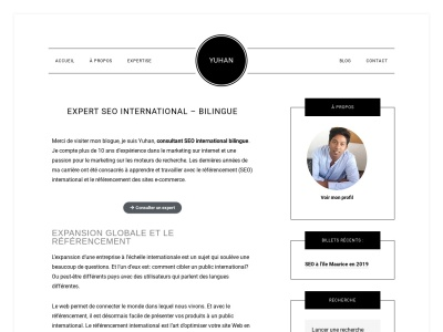 Consultant SEO international – Yuhan