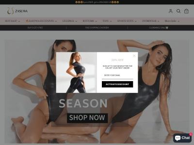 Screenshot of zasuwa.com