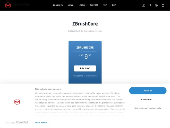 http://zbrushcore.com/