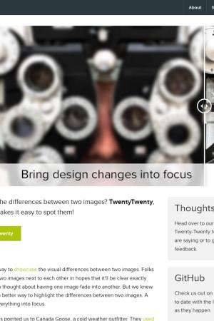 Screenshot of zurb.com
