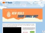 13deals.com Promo Code