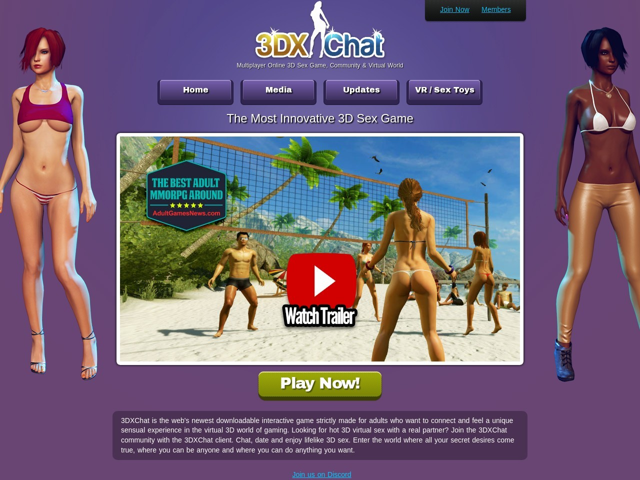 3DXChat - Multiplayer 3D Sex Game