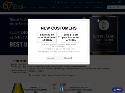 67 Wine promo code and other discount voucher