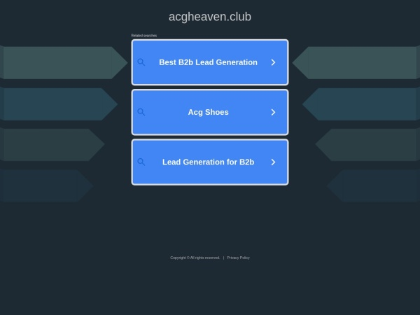 acgheaven.club网站缩略图