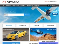 Adrenaline promo code and other discount voucher