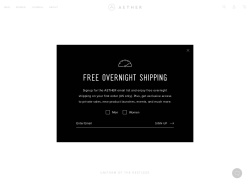 Aether Apparel promo code and other discount voucher