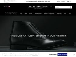 Allen Edmonds promo code and other discount voucher