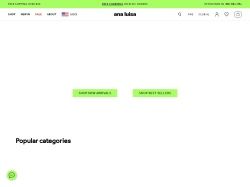 Ana Luisa promo code and other discount voucher