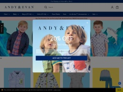 Andy & Evan promo code and other discount voucher