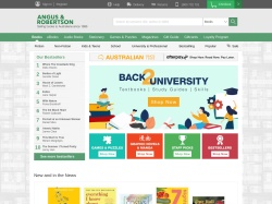 Angus & Robertson Book World promo code and other discount voucher