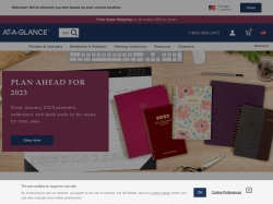 AT-A-GLANCE promo code and other discount voucher
