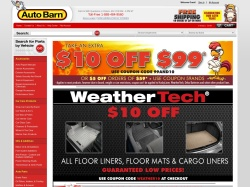 Auto Barn promo code and other discount voucher