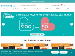 Baby Bunting Australia promo code and other discount voucher