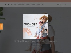 Baby Tula promo code and other discount voucher