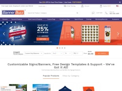 BannerBuzz promo code and other discount voucher
