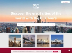 Big Bus Tours promo code and other discount voucher