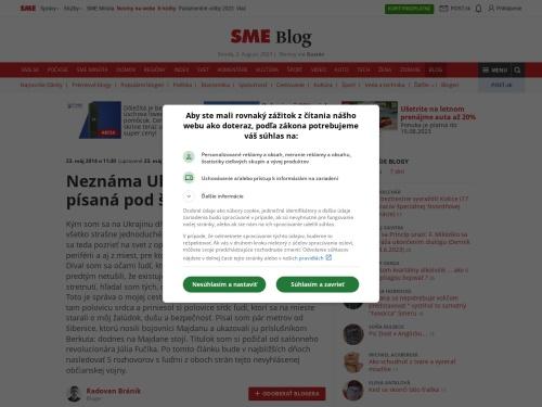Neznáma Ukrajina: reportáž písaná pod šibenicou