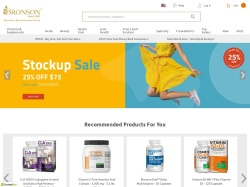 Bronson Vitamins promo code and other discount voucher