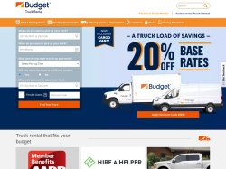 Budget Truck Rental promo code and other discount voucher