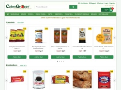 Cajun Grocer promo code and other discount voucher