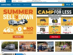 Camping World promo code and other discount voucher