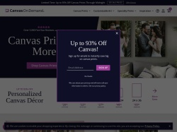 Canvas On Demand promo code and other discount voucher