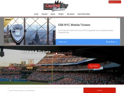 Capital City Tickets promo code and other discount voucher