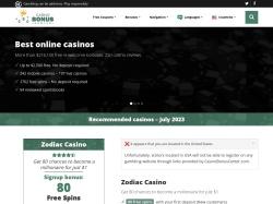 Casino Bonus Center coupons