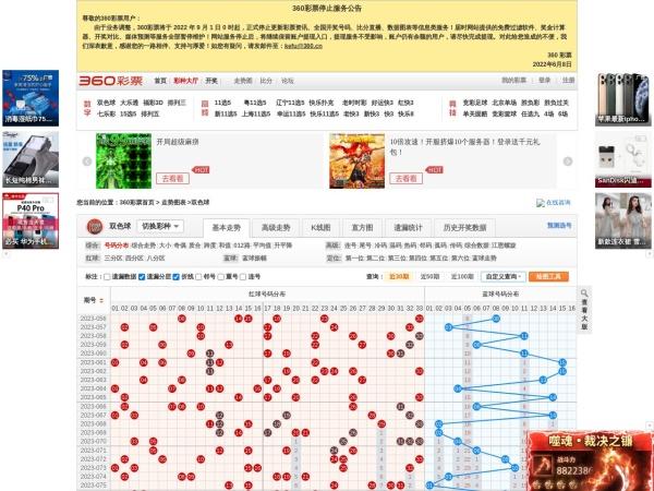 360彩票走势图
