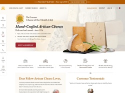 The Gourmet Cheese of the Month Club promo code and other discount voucher
