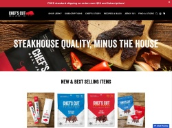 Real Steak Jerky promo code and other discount voucher