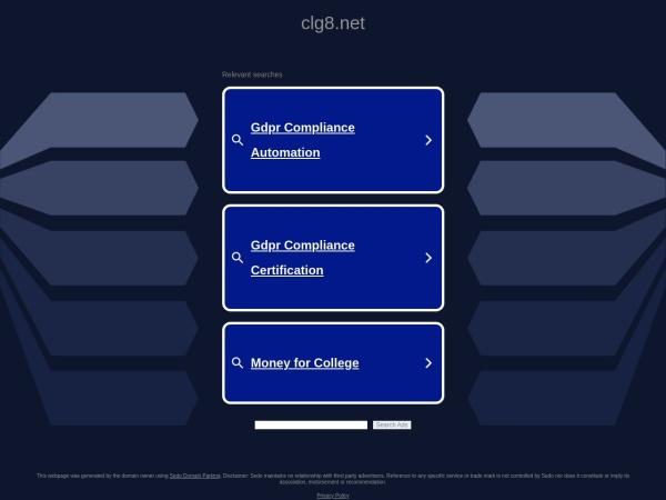 clg8.net的网站截图