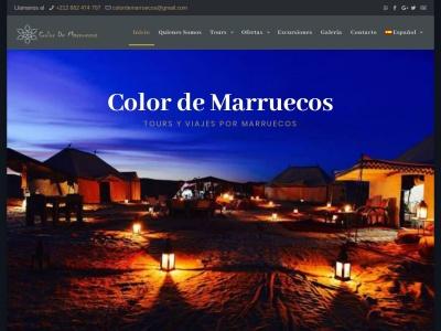 colordemarruecos.com Relatório de SEO