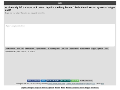 convertcase.net SEO-rapport