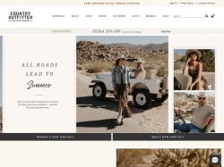 Country Outfitter promo code and other discount voucher