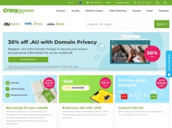 Crazy Domains Australia promo code and other discount voucher