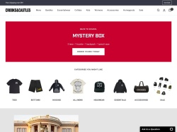 Crooks And Castles promo code and other discount voucher